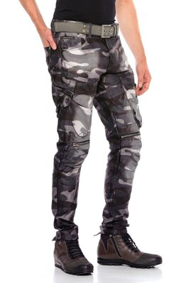 Cipo & Baxx camouflage cargo pants