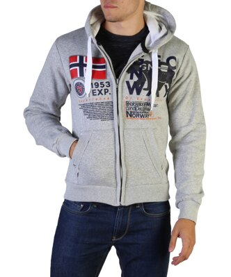 Geographical Norway kapucnis felső